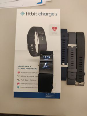 Fitbit Charge 2 with 3 extra bands for Sale in Pembroke Pines, FL