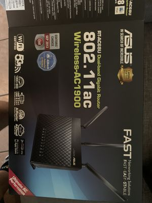 Asus router works great for Sale in Fullerton, CA