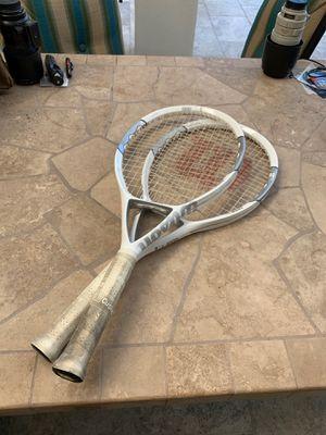 Wilson N code tennis racquets for Sale in Henderson, NV