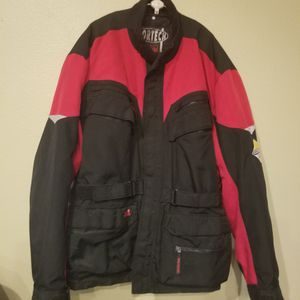 Motorcycle Tourmaster jacket size Large insulated zipout liner for Sale in Ruskin, FL