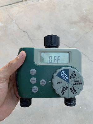 Sprinkler timer - 2 outlets for Sale in Las Vegas, NV