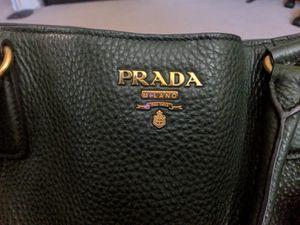 Green Prada Leather Bag for Sale in Oceanside, CA