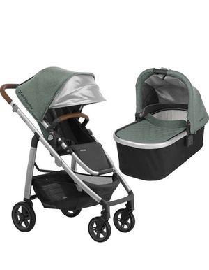 UPPAbaby Full-Size Cruz Infant Baby Stroller & Bassinet Bundle (Emmett) for Sale in Chino, CA