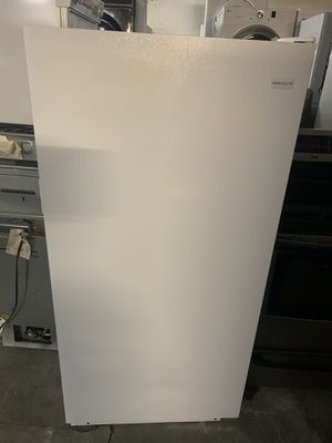 One door freezer brand Frigidaire everything is good working condition 90 days warranty for Sale in San Leandro, CA