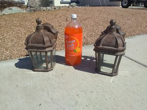 Exterior / Outdoor Wall Mount Lights - set of 2 for Sale in Yuma, AZ