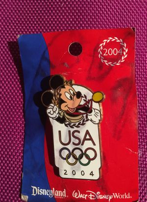 Walt Disney and Mickey Mouse Olympic collectors edition 2004 pin... for Sale in Grayslake, IL