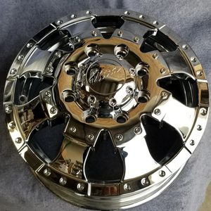 16 Chromed Dually Wheels Chevy and Dodge Ram for Sale in Corona, CA