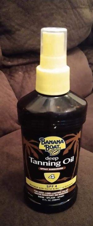 """""""SPRAY"""" deep tanning oil for Sale in Laurel, DE"""