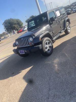 Brand new Jeep Wrangler for Sale in Arlington, TX