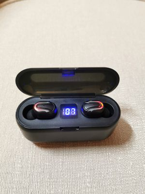 Bluetooth True Wireless Earphone 5.0 Earbuds Waterproof Music Sport Headset for Sale in Rowland Heights, CA