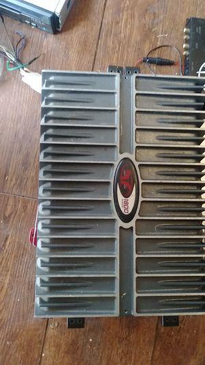 Rockford Fosgate Punch 401s 1800w Usa Amplifier for Sale in San Bernardino, CA