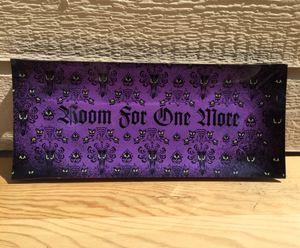 Disney Store ~ Haunted Mansion Glass Serving Platter / Tray / Dish for Sale in Fresno, CA