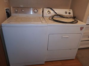 Admiral washer/ whirlpool dryer for Sale in Houston, TX