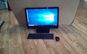Computer Touch Screen Dell 25 inc wireless Key Bord Mouse 2017 All in one for Sale in Pawtucket, RI