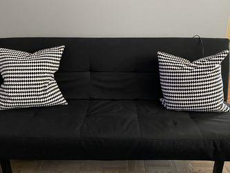 Ikea Black Futon Like-new for Sale in Elk Grove Village,  IL