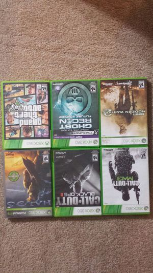 X box 360 games for Sale in Pittsburg, CA