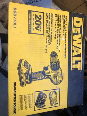 DeWalt hammer drill 20v new in box for Sale in Anaheim, CA