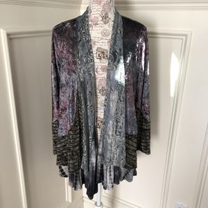 NEW mixed media cardigan S/M for Sale in Bloomfield Hills, MI