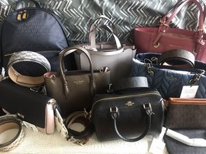 Michael Kors, Kate Spade and Coach belts and purses for Sale in Washington, DC