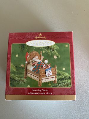 Snoozing Santa by Hallmark for Sale in Millbrae, CA