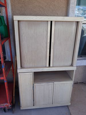 Tv stand, wood shelf for Sale in Mesa, AZ