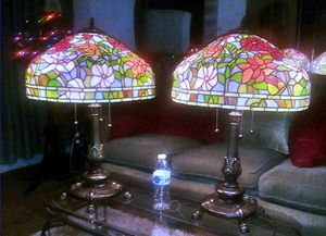 Pair Beautiful Large Tiffany Style Lamps (Like New) for Sale in Mount Rainier, MD