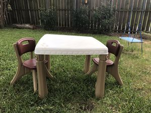 Kid table and chairs for Sale in Cedar Hill, TX