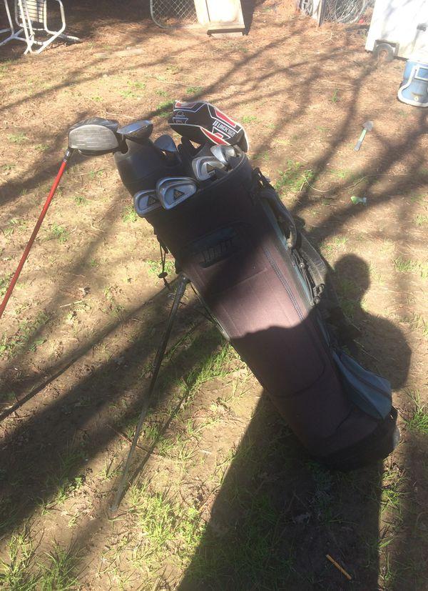 Golf clubs Lynx irons