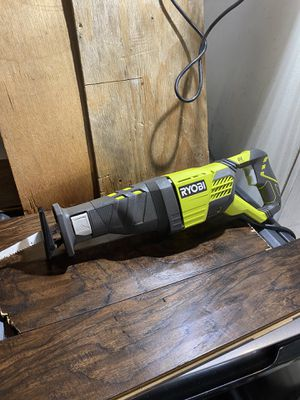 Ryobi corded 12 AMP Reciprocating saw for Sale in San Bernardino, CA