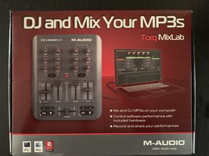 M-Audio Torq MixLab Digital DJ System X Session Pro for Sale in Highland, CA