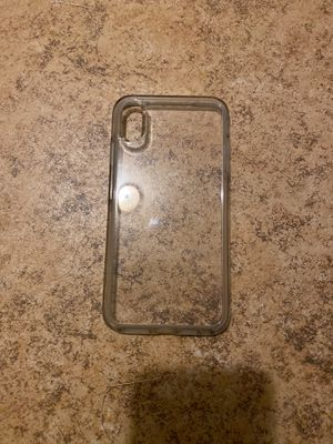 iPhone XS Max otter box clear case for Sale in Riverside, CA