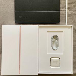 iPad Pro 9.7 128g LTE w/ Apple Pencil + keyboard for Sale in Eastvale, CA