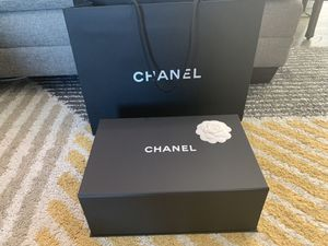 Chanel authentic box and shopping bag for Sale in Westminster, CA