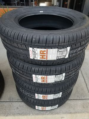 225 65 17 MASTERCRAFT NEW TIRES MADE IN USA for Sale in Fontana, CA