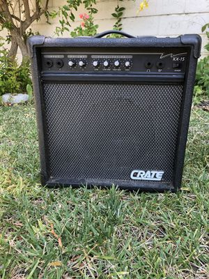 Crate guitar amplifier with 2 inputs for Sale in Fremont, CA
