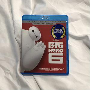 Big Hero 6 Blu-ray for Sale in Barrington, IL