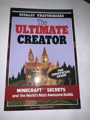 Minecraft Secrets Book NEW for Sale in Bakersfield, CA