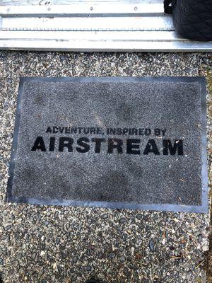 Original airstream RV welcome mat. for Sale in Kirkland, WA