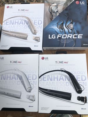 LG Bluetooth Headphones for Sale in Dallas, TX