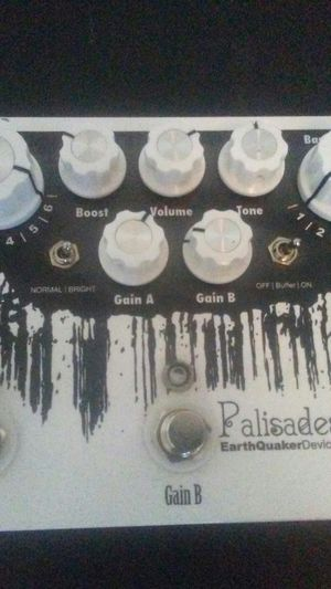 EARTHQUAKER DEVICES palisades overdrive pedal for Sale in East Wenatchee, WA