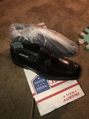 ALFANI ACE SHOES SIZE 10.5 Men Black Dress Shoes for Sale in Hayward, CA