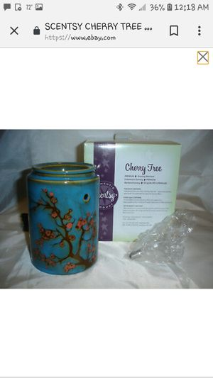 Cherry Tree Scentsy Warmer for Sale in Clinton Township, MI