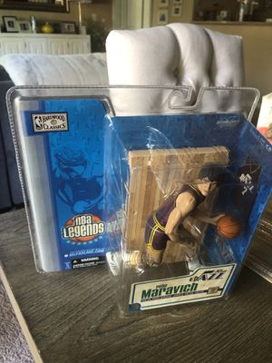 McFarlane Toys NBA Sports Picks Legends Series 1 Action Figure Pete Maravich (Atlanta Hawks) Variant for Sale in Wilsonville, OR