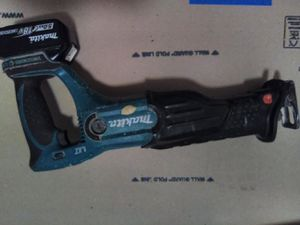 Makita cordless sawzall for Sale in Seattle, WA