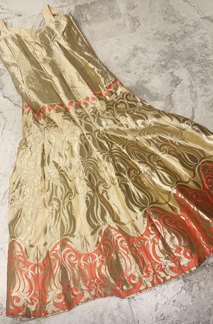Gold dress for Sale in Elk Grove, CA