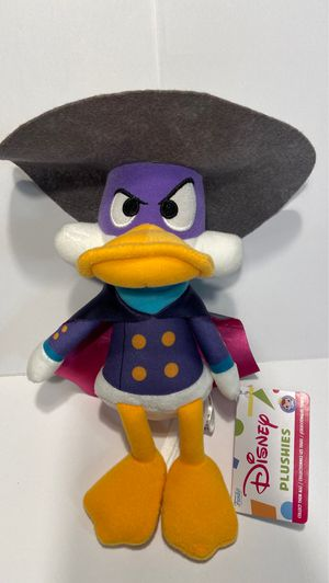 """Darkwing Duck Afternoon Cartoons Collectible Plush 6"""" Funko Disney Plushies for Sale in Las Vegas, NV"""