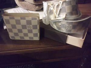 Wallet and belt for Sale in Denver, CO