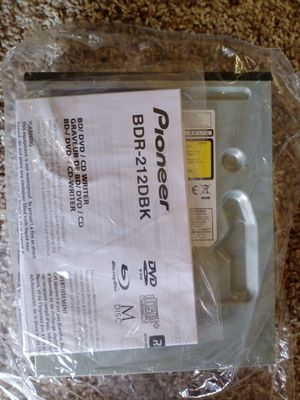New - Pioneer BDR-212DBK Optical Drive for Sale in Eugene, OR