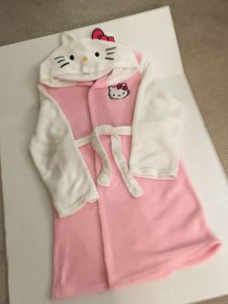 Hello Kitty Hooded Fleece Robe, Slippers for Sale in Beaverton,  OR