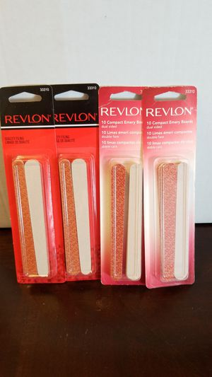 Revlon compact Emery boards nail file 10 ct for Sale in Germantown, MD